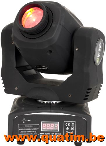 IBIZA Light LMH50LED 60W LED moving head SPOT DMX