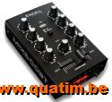 IBIZA sound MIX500BT 2 kanaals mixer USB-BT