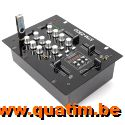 SkyTec STM-2300 Mixer 2-Kanaals / USB MP3