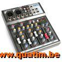Vonyx VMM-F401 4-kanaal Muziek Mixer