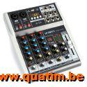 Vonyx VMM-K402 4-Kanaals Muziek Mixer met DSP en BT