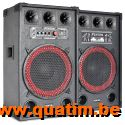 Fenton SPB-12 PA Actieve Speakerset 12