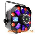 BeamZ MultiAcis IV LED met laser en strobe