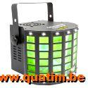 BeamZ Radical II LED Derby met strobe en laser RG