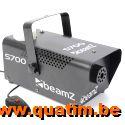 BeamZ S700 Rookmachine inclusief rookvloeistof