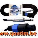 IBIZA sound Speaker Kabel 10 meter Speakon - Jack 6,3